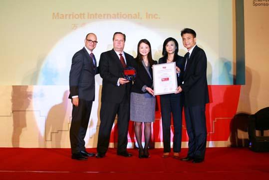 万豪国际集团获评为中国杰出雇主