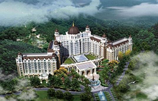 喀什银瑞林国际大酒店是安徽银瑞林集团投资,集客房,餐图片